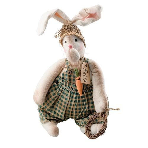 Felix Bunny Doll Decoration