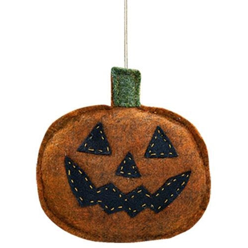Felt Jack O' Lantern Ornament UK