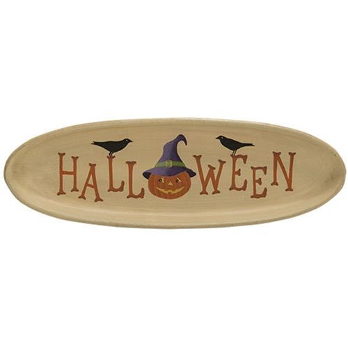 Decorative Halloween Tray