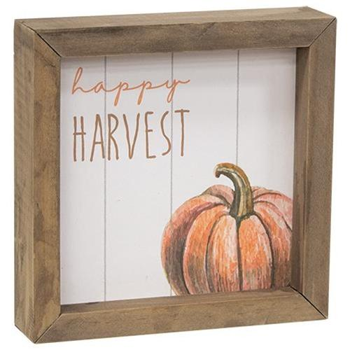 Happy Harvest Merry & Bright Two Sided Sign