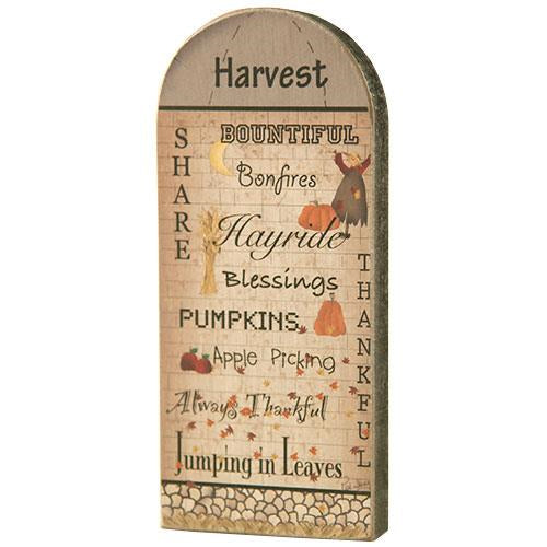 Wooden Harvest Silo Decoration