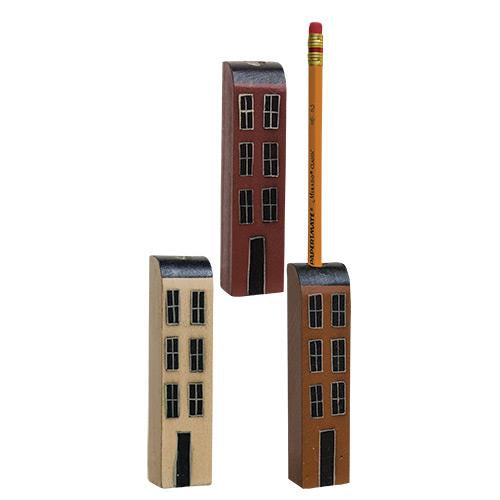 Saltbox House Pencil Holder Magnet