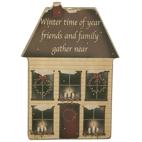 WinterTime House Magnet