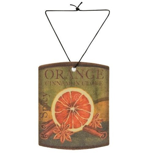 Orange Cinnamon Clove Air Freshener