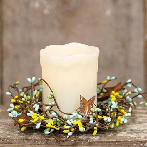 Spring Mix Pip Berry Candle Ring