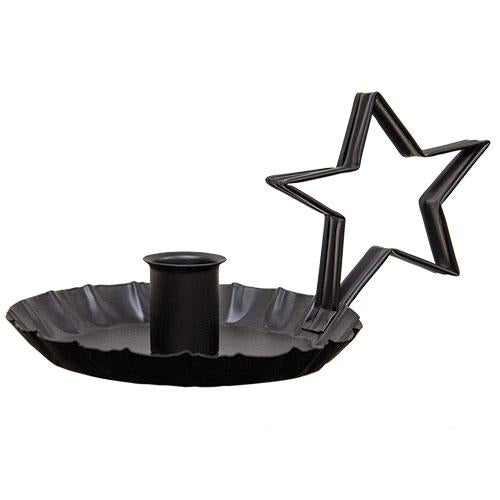 Star Handle Taper Candle Holder