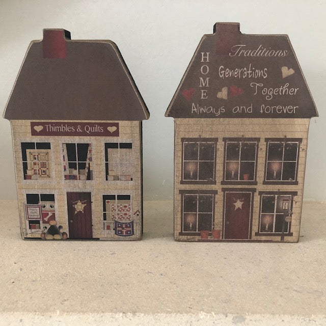 Wooden Houses Decorations
