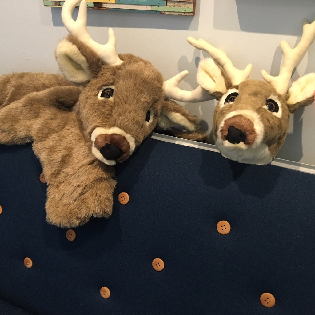 Plush White Tail Deer Collection