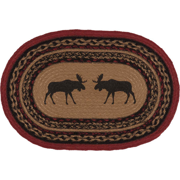 Cumberland Moose Oval Table Mat