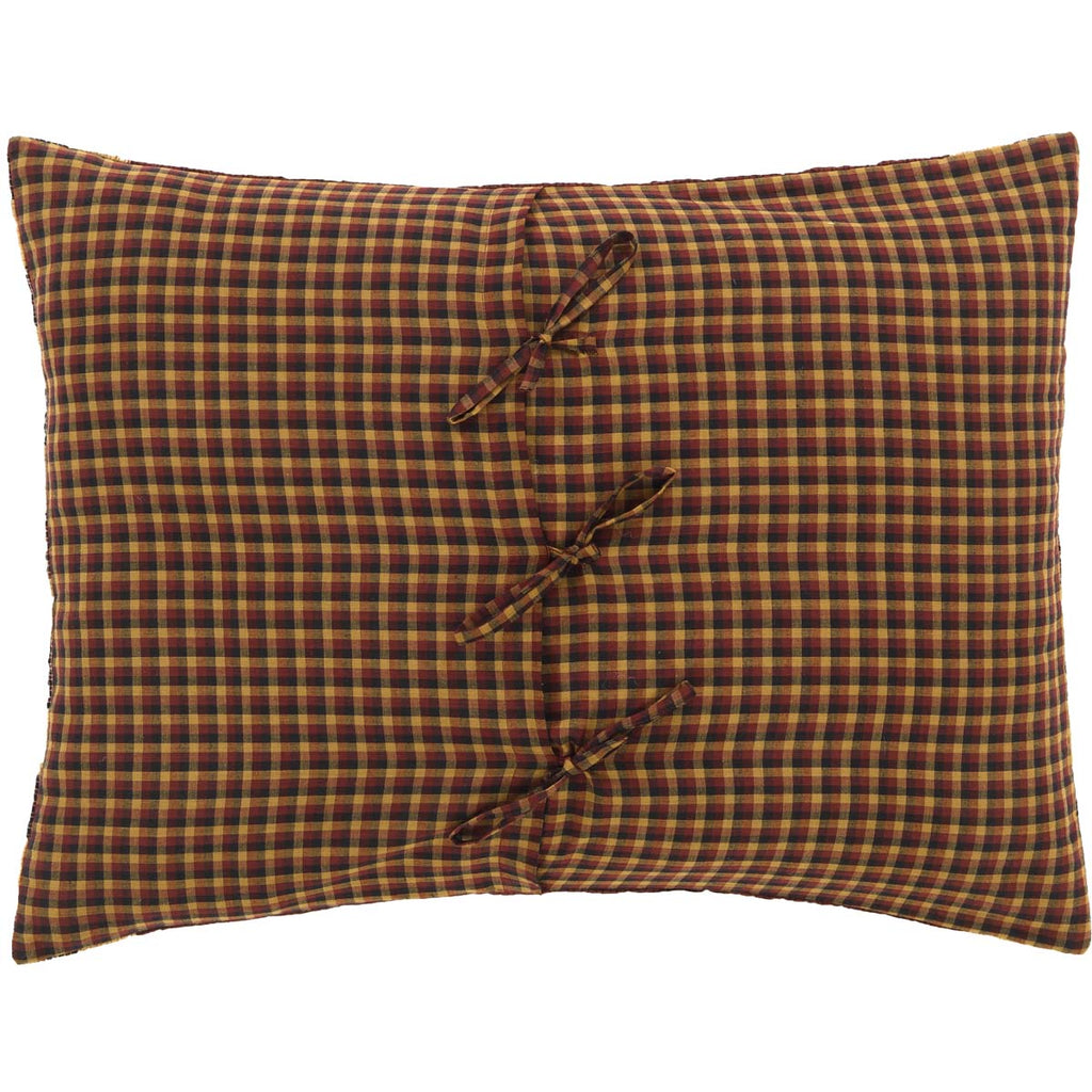 Reverse Side of Pillow Sham