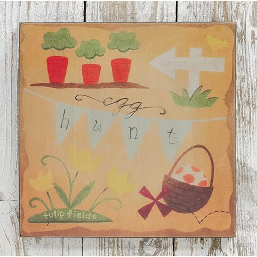 Egg Hunt Box Sign