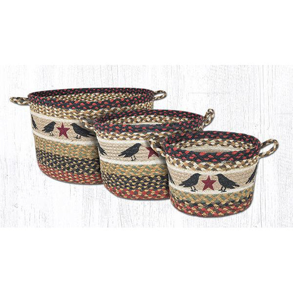Star and Crows Storage Baskets