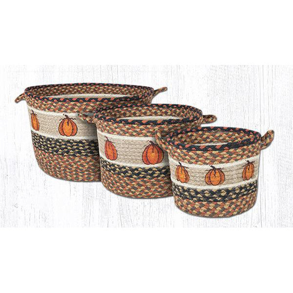 Harvest Pumpkins Utility Storage Baskets