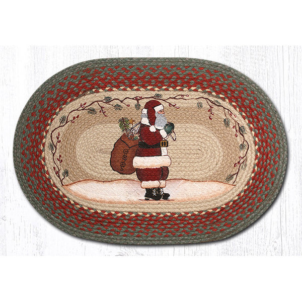Oval Santa Jute Braided Rug