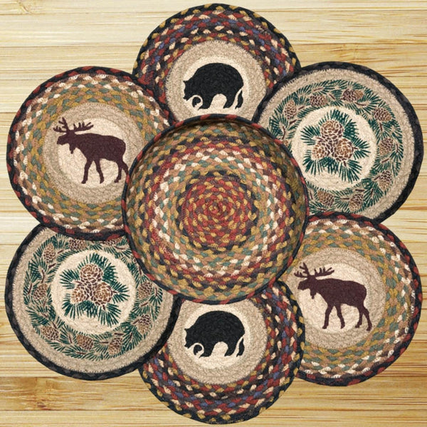 Wilderness Themed Jute Trivets