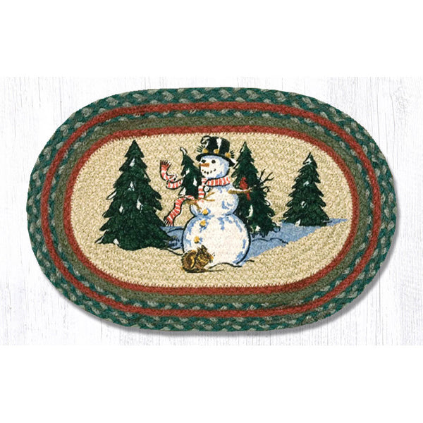 Winter Wonderland Jute Mat