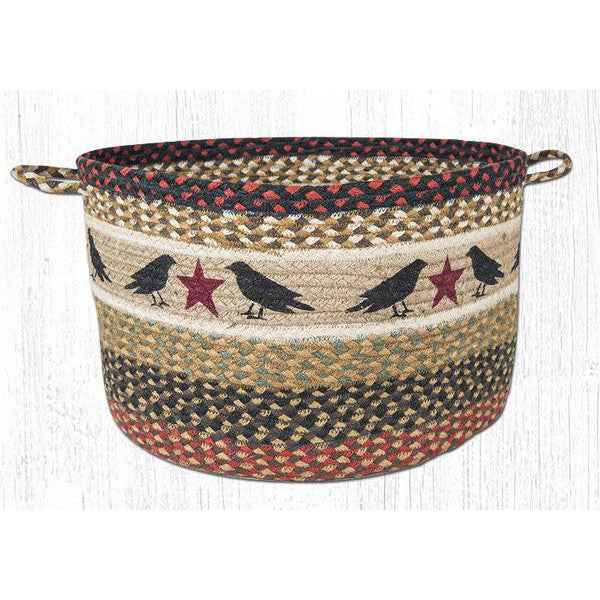 XL Crows and Stars Basket