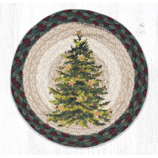 Starry Christmas Tree Trivet