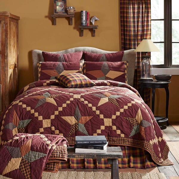Folkways Star Quilted Bedspread UK