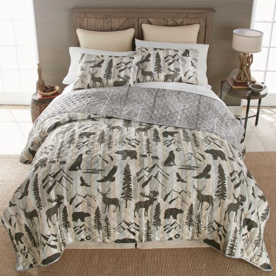 Forest Weave Log Cabin Bedding UK