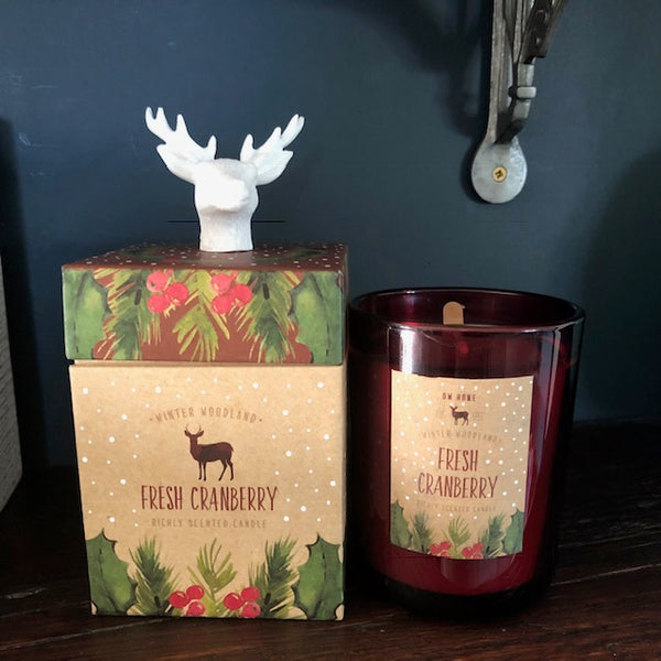 Wild Cranberry Boxed Candle