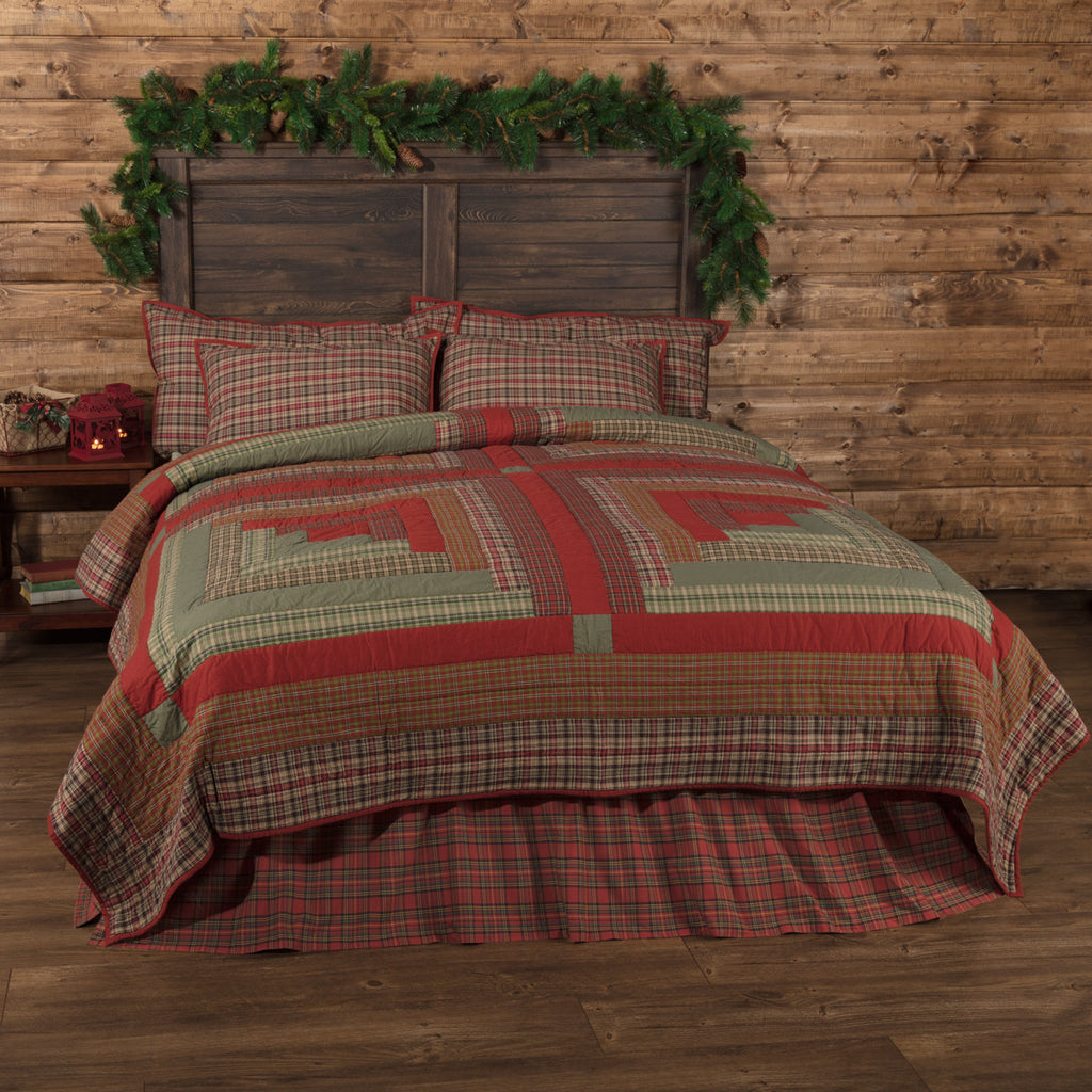 Gatlinburg Log Cabin Quilt