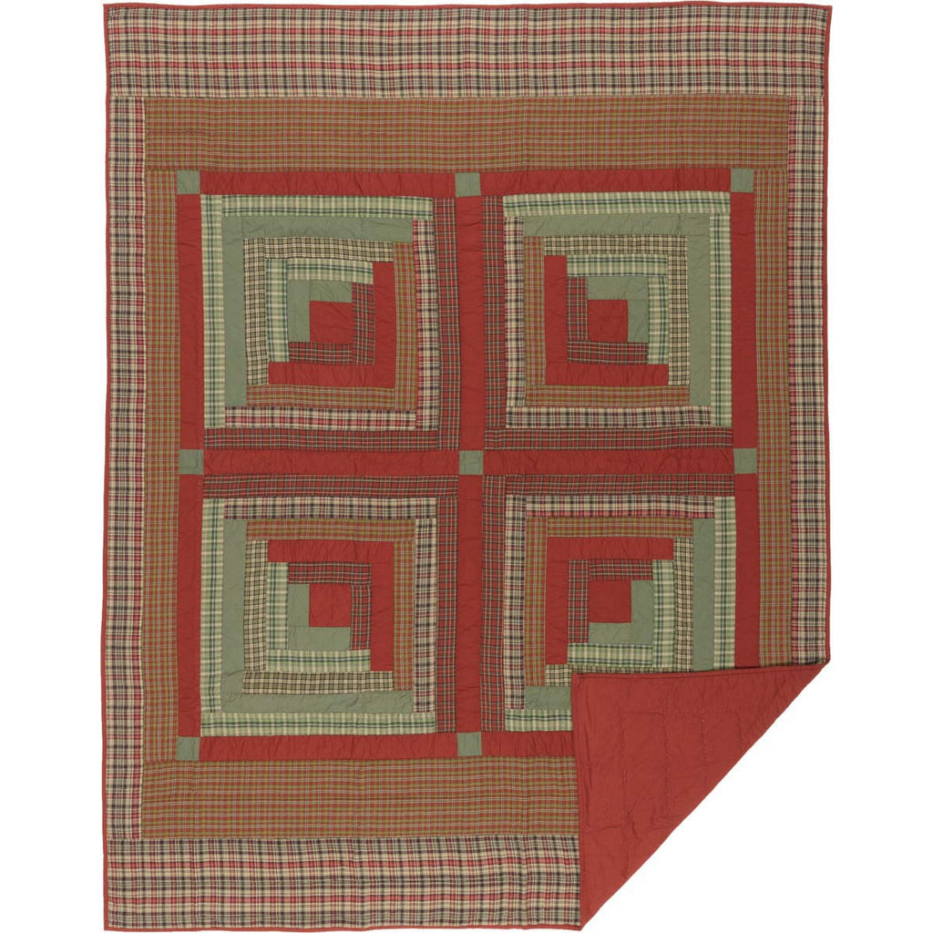 Gatlinburg Patchwork Log Cabin Quilt