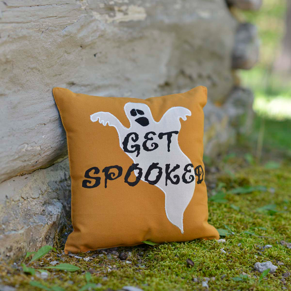 get spooked halloween cushion uk