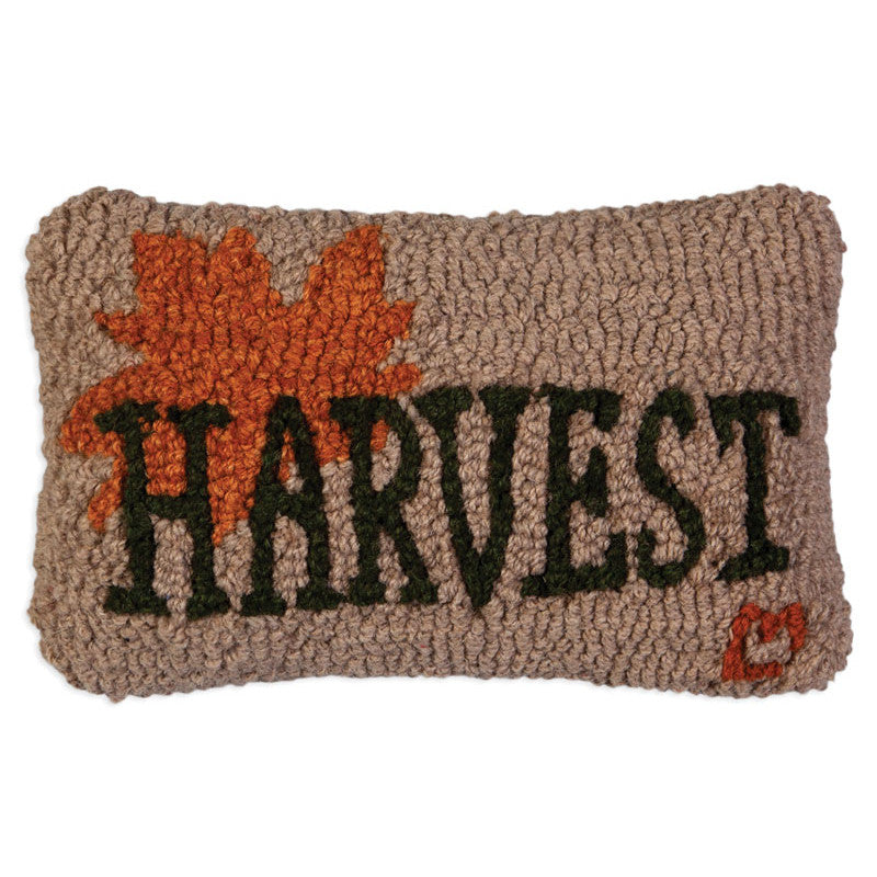 Harvest Leaf Hooked Cushion
