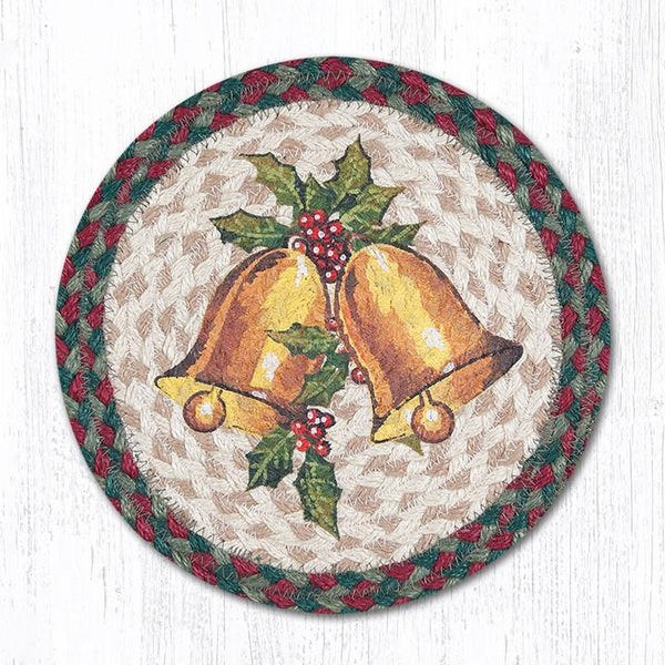 Holly Bell Jute Braided Trivet