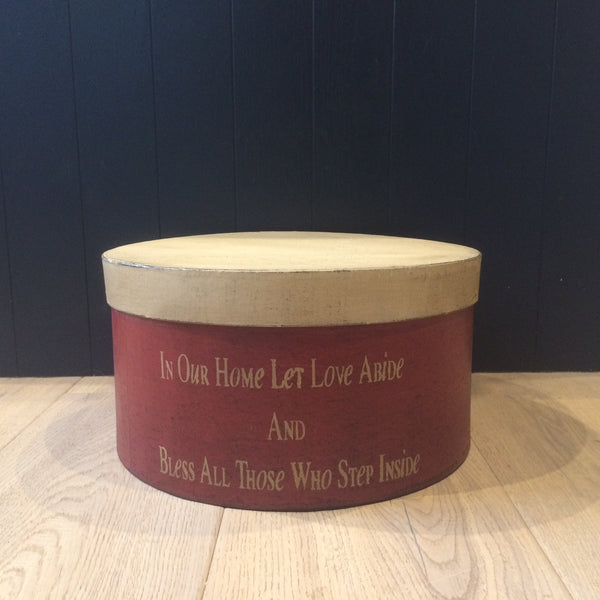 In our Home Let Love Abide Box
