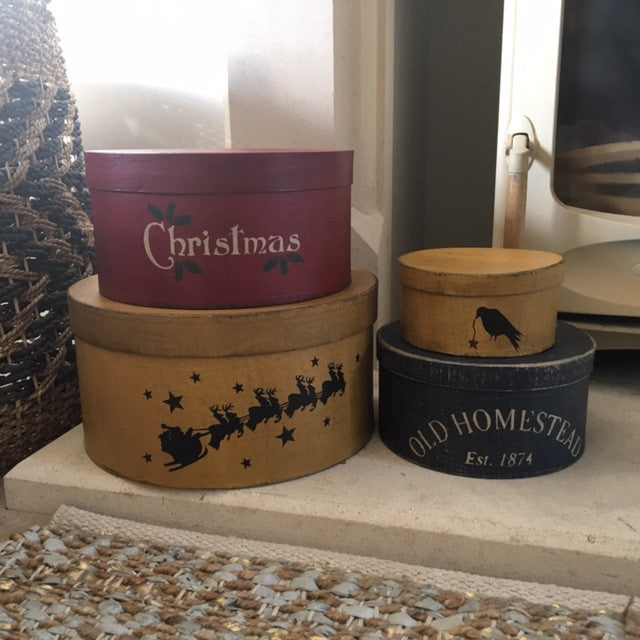 Christmas Shaker Style Boxes UK