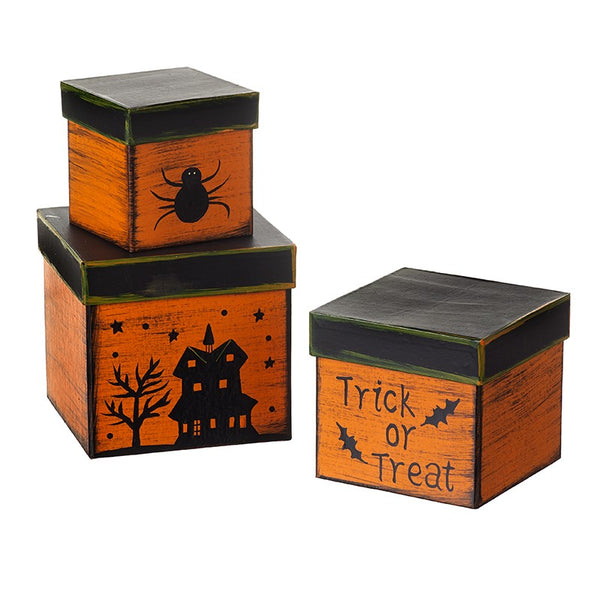 Trick or Treat Shaker Style Halloween Box Set