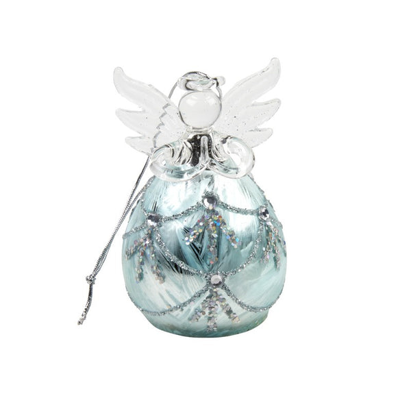 Glass Angel Tree Ornament | American Style Christmas