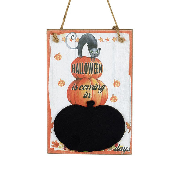 Halloween Countdown Sign