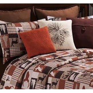 Hunter Quilt and Shams Set