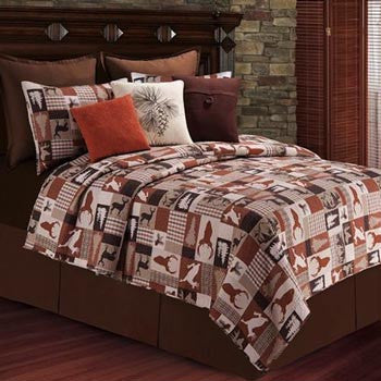 Patchwork Stags Bedding Collection