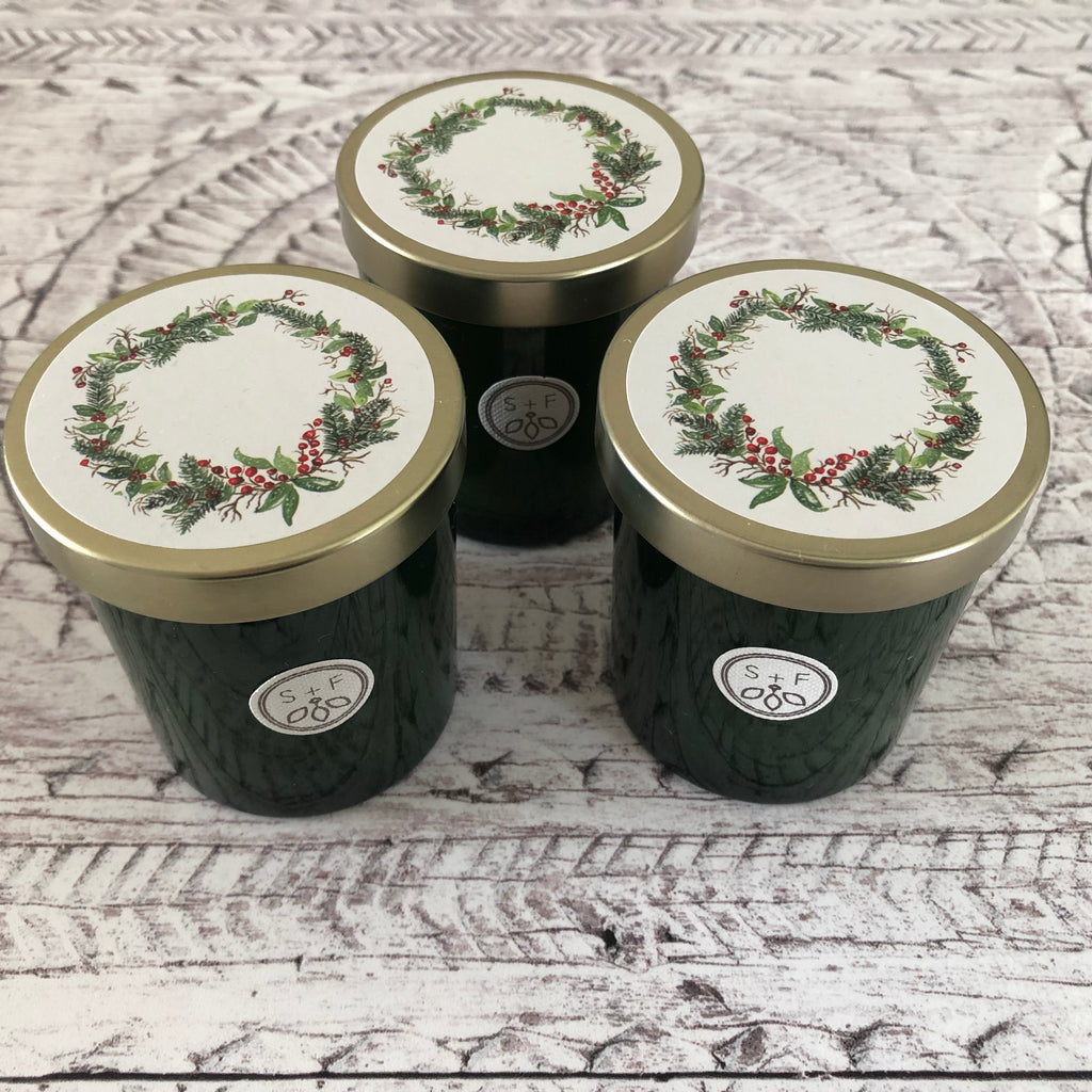Winter Pine Coconut Wax Blend Candle