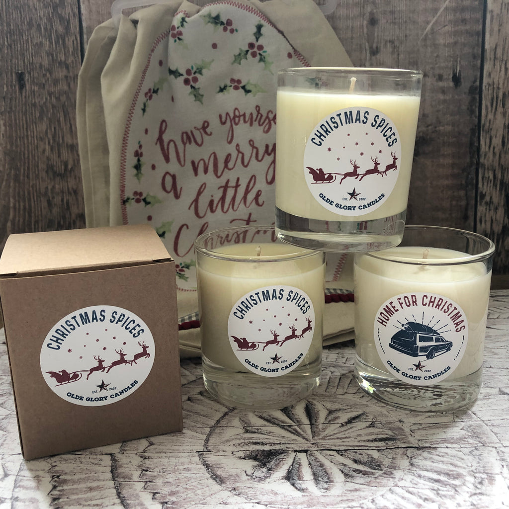 Olde Glory Christmas Spices Soy Wax Candle