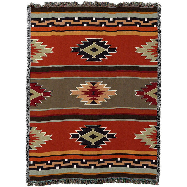 Southwestern Style Woven Throw Blankets UK