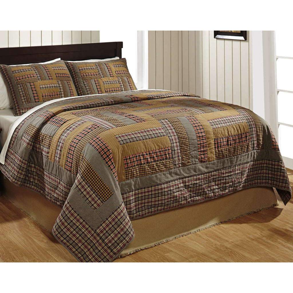 Karston Patchwork Quilt and Pillowcases Set