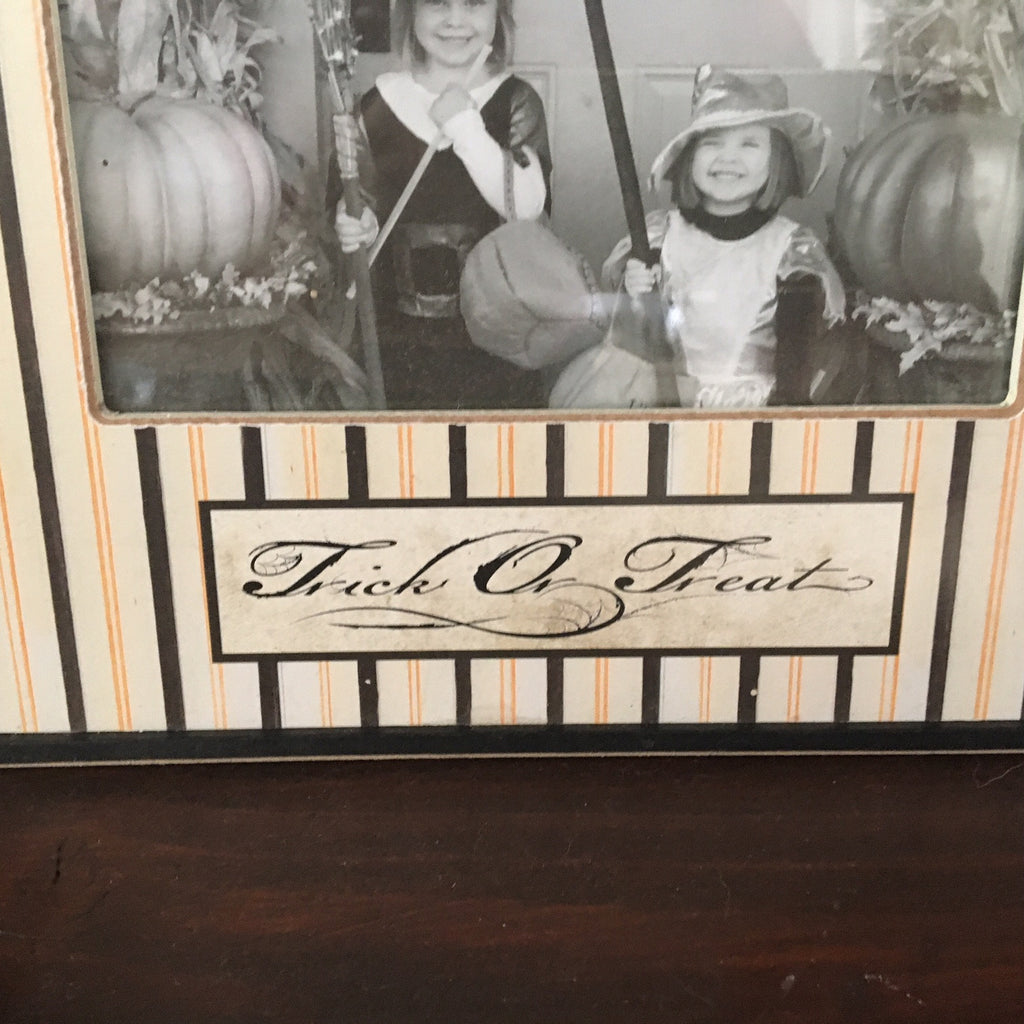 Trick or Treat Halloween Photo Frame
