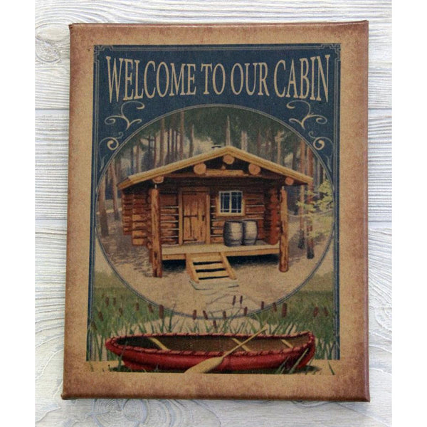 Welcome to our Cabin Canvas Art