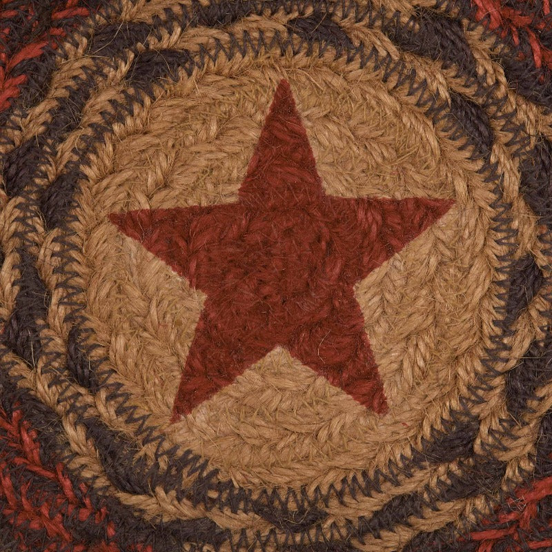 Landon Barn Star Trivet Braided Mat