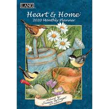LANG Heart and Home 2020 Monthly Planner