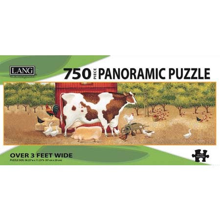 Lang Apple Orchard Panoramic Jigsaw UK