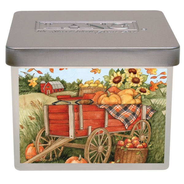 LANG Farmers Harvest Soy Beeswax Blend Fall Candle UK