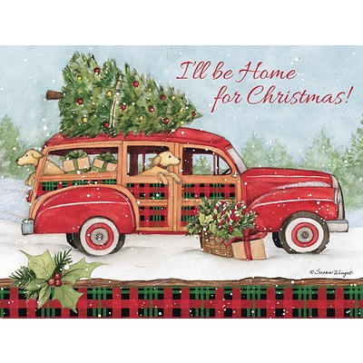 Lang Home for Christmas Classic Cards UK
