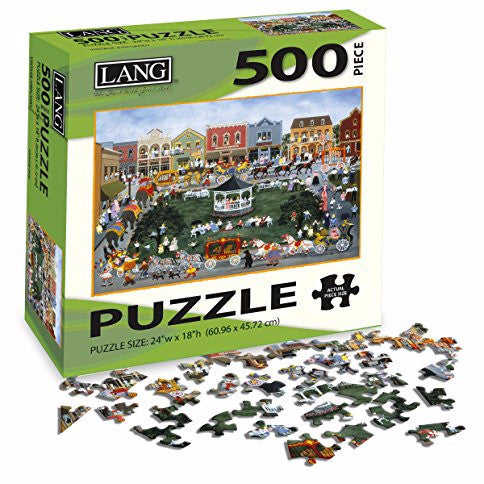 Lang Village Celebration 500 Piece Jigsaw UK