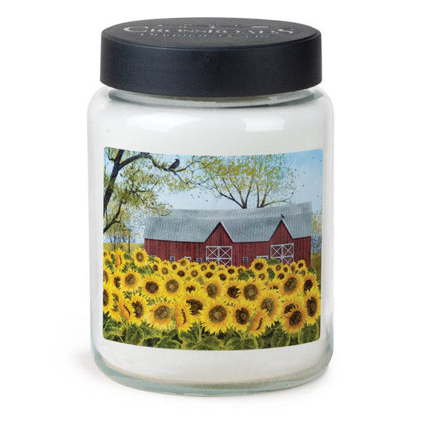 Sunflower Barn Lemongrass and Lavender Candle